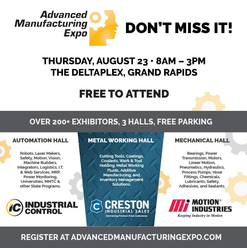 Advanced Manufacturing Expo 8-23-2018
