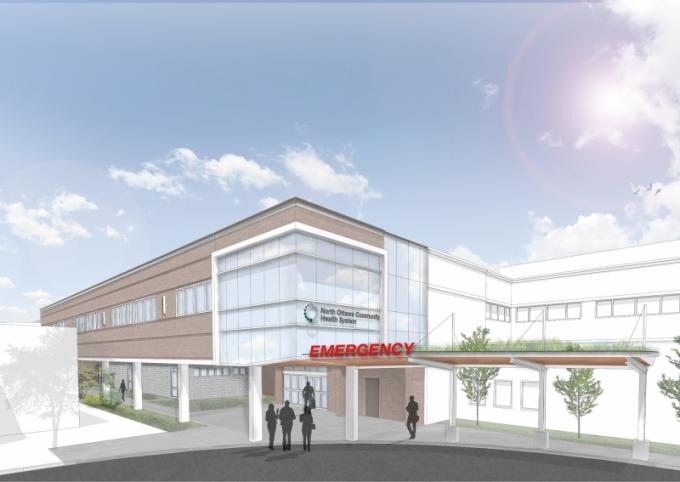 North Ottawa launches campaign to fund new $9.67 million emergency department