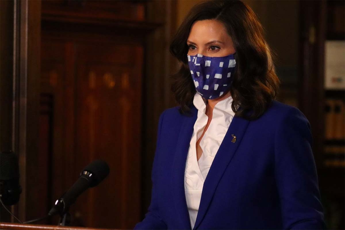 As COVID cases rise, Whitmer urges social distancing, federal economic relief
