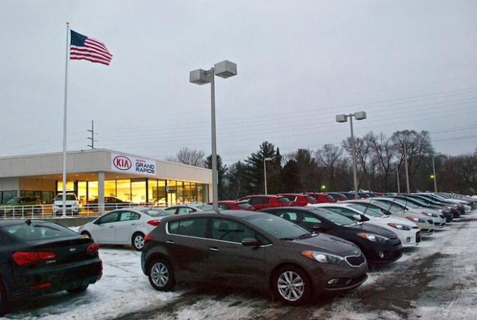 Good Kia Of North Grand Rapids Opened At The Former Toyota Dealership On  Plainfield Avenue.