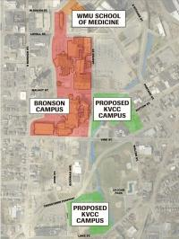 KVCC partners to develop $42M health campus in downtown Kalamazoo