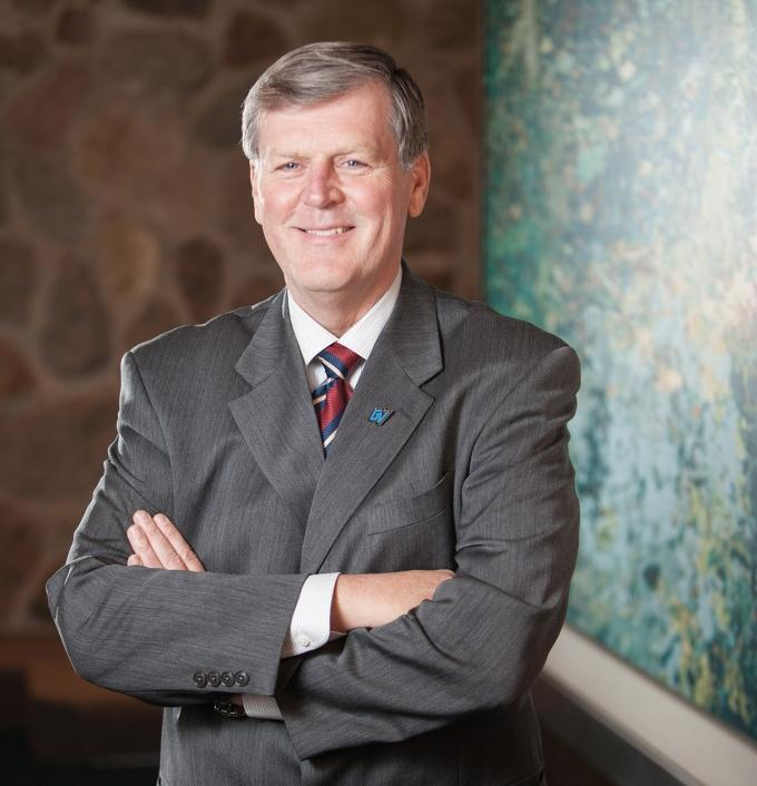 Thomas Haas, President of Grand Valley State University