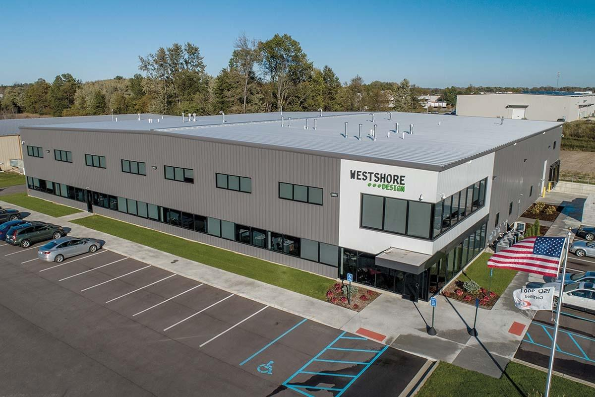The pipeline for Holland-based Lakewood Construction typically includes several industrial projects, such as the facility for Westshore Design that it wrapped up in 2018.