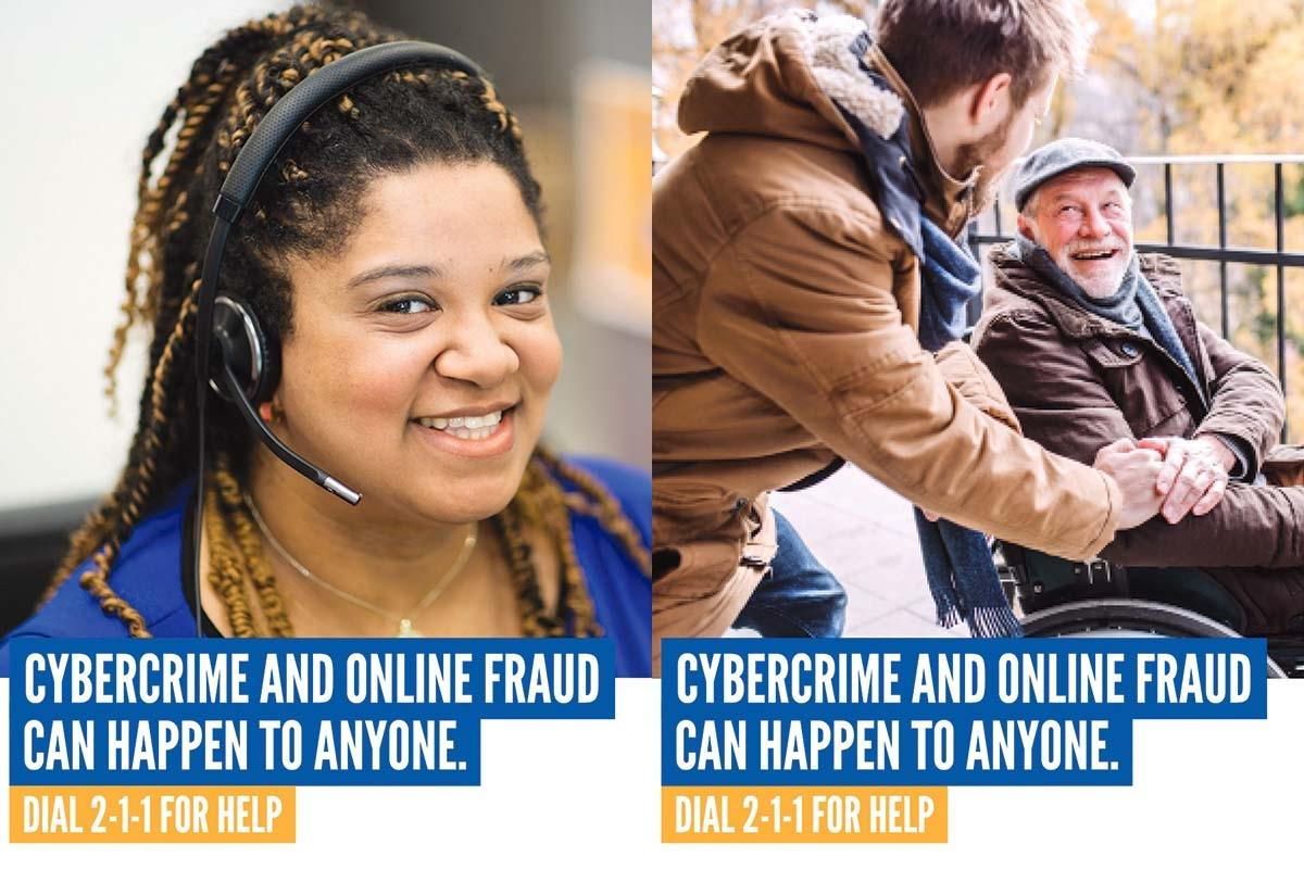 The Cybercrime Support Network has launched a new service that allows people and businesses to call 211 to report and find resources to recover from cybercrimes.