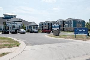 Orion Construction Co. built the 192-unit student housing project called The Lodge near Grand Valley State University in Allendale, and is beginning a second-phase of the project, The Alpine, which will feature 108 units.