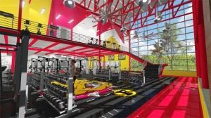 Rendering of the Ferris State Athletics' Strengthening & Conditioning Center.