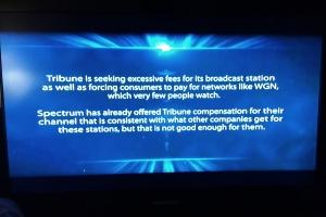Tribune TV stations go dark amid contract standoff