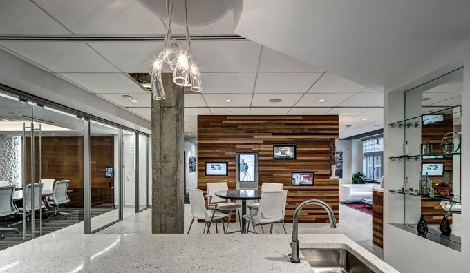 Architecture firm TowerPinkster plans to focus on growing its presence in the Grand Rapids market, where it recently expanded its office by about 2,000 square feet, shown here.
