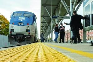 As Amtrak and a variety of state partners seek to bolster the rail infrastructure along the route from Kalamazoo to Chicago, economic developers hope to see the project drive more regional growth. But many stakeholders believe the economic impact could spread beyond Southwest Michigan, particularly if trains from Grand Rapids bound for Chicago were rerouted via Kalamazoo, expediting the trip.