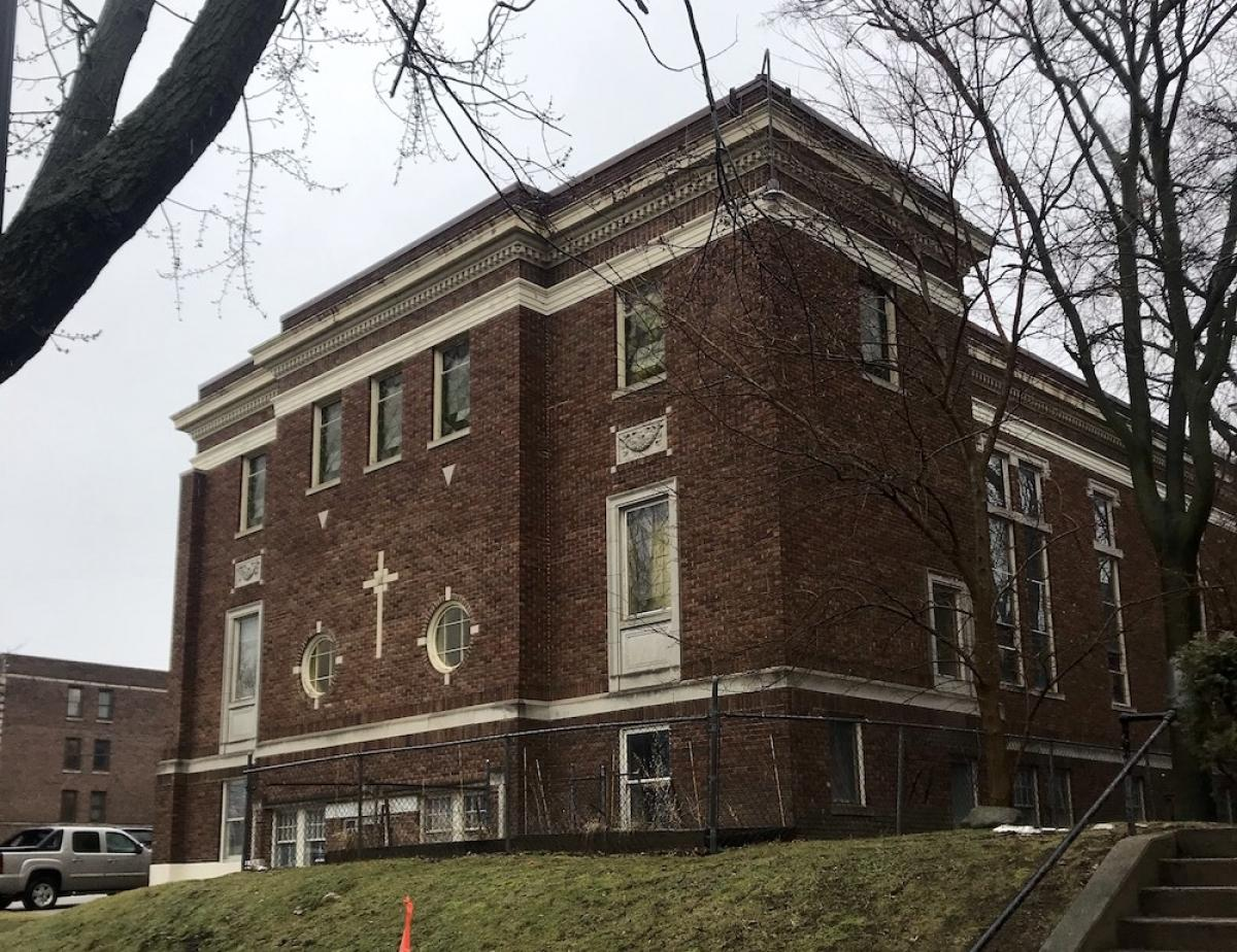 Developers propose converting the former Faith Ministries Center Church at 200 Madison Ave. SE in Grand Rapids into 22 affordable apartments.