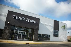 Kalamazoo-based Gazelle Sports, a specialty sporting goods retailer whose Grand Rapids store is shown here, has focused on customer experience and customer service, along with expanding e-commerce options, to grow the business. The company operates stores in Holland, Northville and Birmingham.