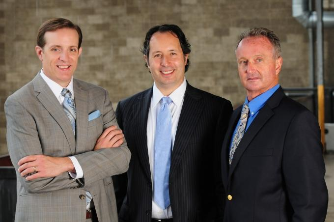 Jeff Helminski, Jack Kolodny and Fred Tedori are the managing partners of Auxo Investment Partners, a Grand Rapids-based private equity firm that aims to raise $50 million and invest in manufacturing, distribution, business services and industrial firms.