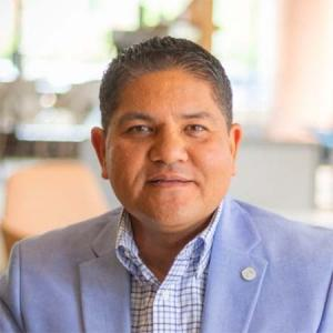 Dante Villarreal, vice president of business and talent development at the Grand Rapids Area Chamber of Commerce