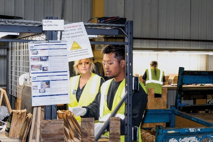 Zeeland-based Blu Perspective developed an in-house training program that helps workers learn soft skills like attendance, attention to detail, communication and general employment skills. Recently, the firm began sending employees off to customers to work full-time in their operations.