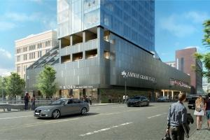 Amway Grand tower to overhaul exterior