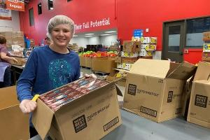 Grand Rapids-based Kids' Food Basket delivered 33,000 meals to children in the first week after the state ordered all K-12 schools to close.