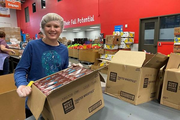 During pandemic, food-focused nonprofits face heightened demand, volunteer constraints