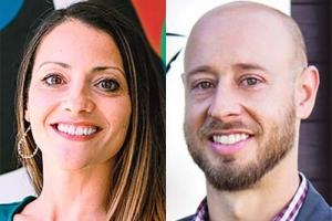Left: Monica Steimle-App, right: Jason Wheeler
