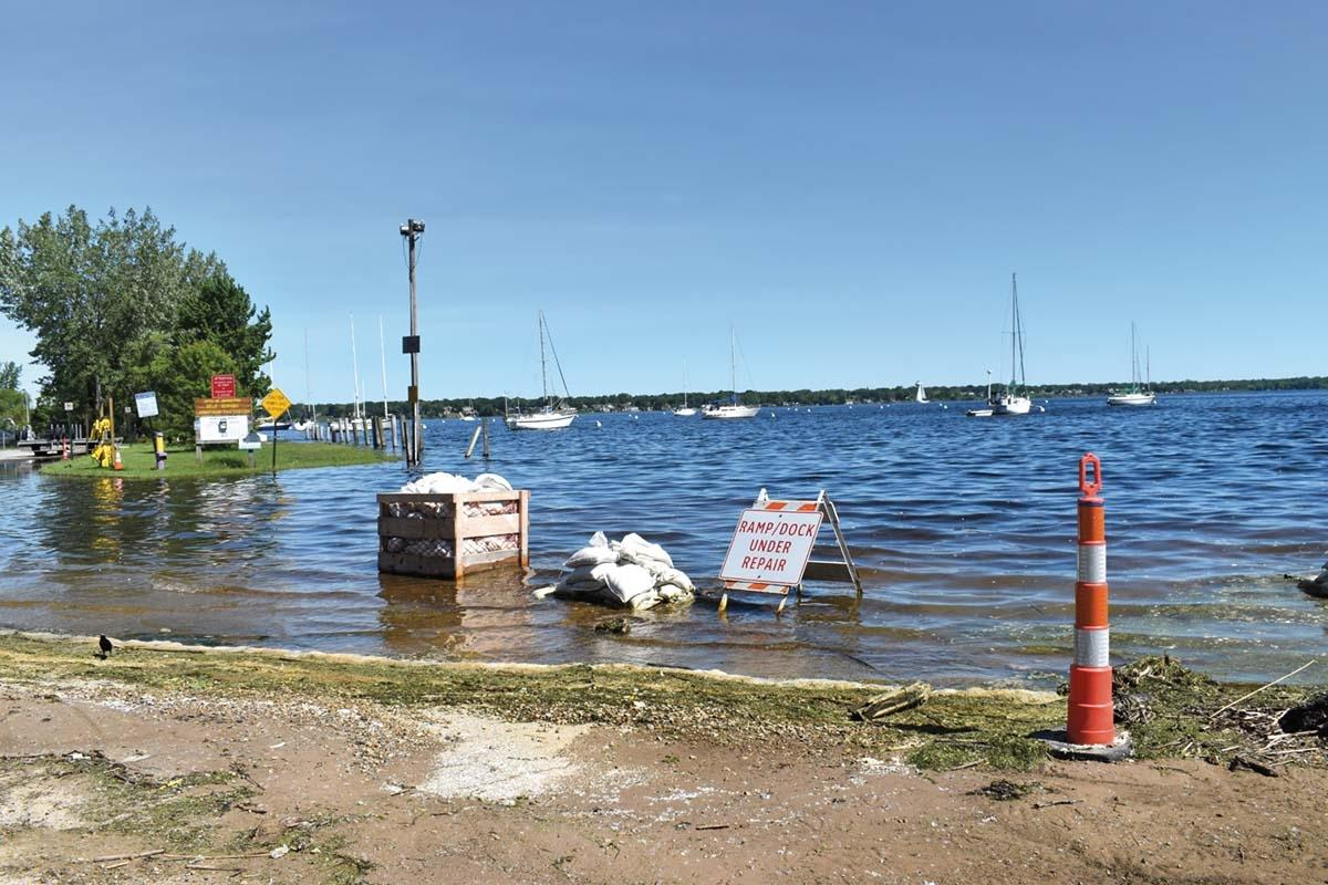 High water conditions have many West Michigan marine construction companies inundated with calls from concerned property owners. However, because of the necessary permitting processes, the waterfront property owners are left with few quick fixes.
