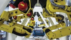 Total shipments of robotic equipment in North America reached 30,875 units in 2016, up about 10 percent compared to 2015, according to the Robotic Industries Association. Spending on the systems reached $1.81 billion in 2016, up 13.1 percent over the prior year.