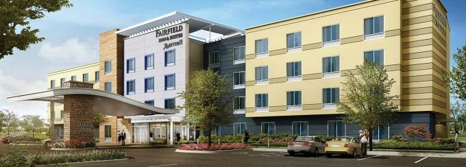 Granger Group's proposed Fairfield Inn & Suites could make for the third hotel around the growing Metro Health Village. The Wyoming, Mich. development firm hopes to create a Medical Mile-type campus in that part of southern Kent County.