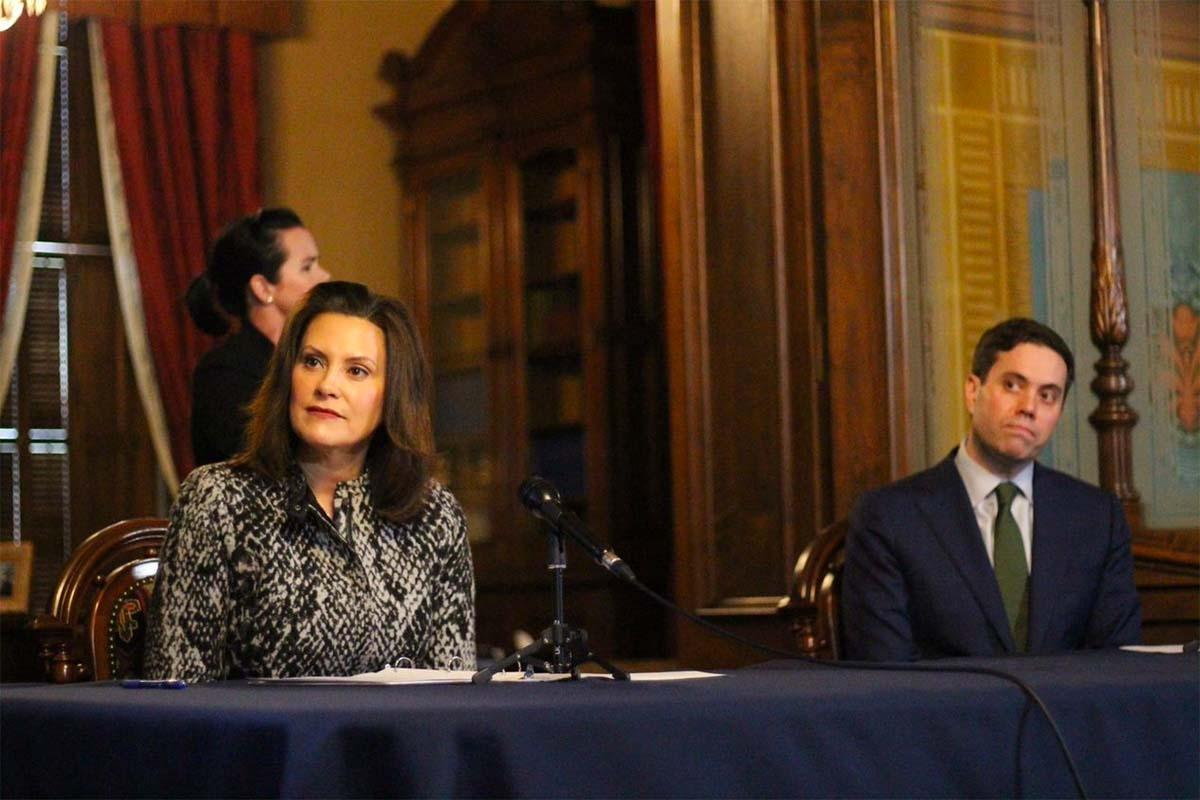 Whitmer joins governors in calling for $500B in state, local budget aid
