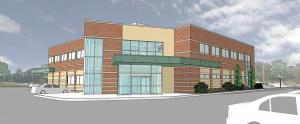 Metro Health aims to open its new $6 million Vascular Institute by mid-2017. The facility remains under construction.