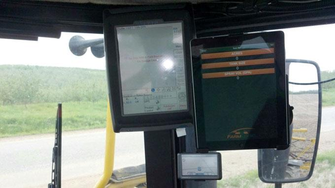 The adoption of precision agriculture technology has helped improve efficiency at Jeff VanderWerff's 2,000-acre farm in Sparta, north of Grand Rapids.