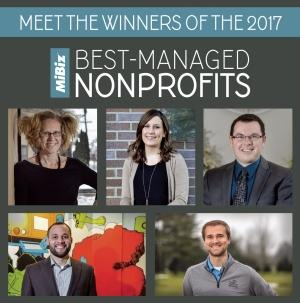 The MiBiz Best-Managed Nonprofits Awards celebrate West Michigan organizations and outstanding leaders who've acted entrepreneurially to serve the missions. The winners and finalists share best business practices and management tips that helped their organizations succeed in a competitive environment. Pictured are (clockwise, from top left) Tami VandenBerg, BriAnne McKee, Mike Goorhouse, Tyler Smies and Daniel Williams.