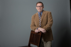 James McGrath, incoming president and dean at Western Michigan University Cooley Law School