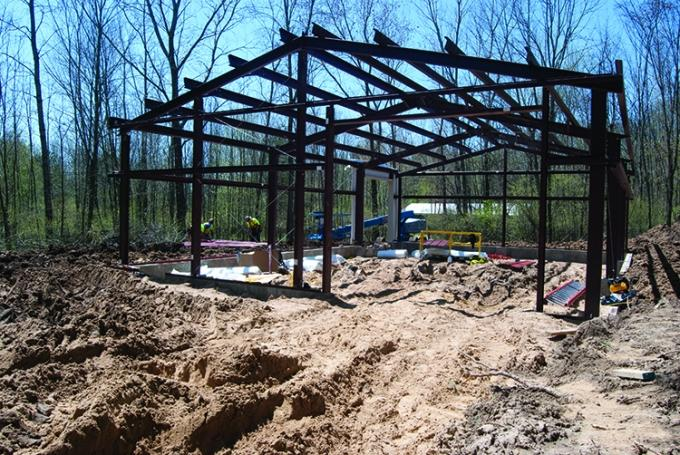 Blandford Nature Center is constructing an 1,800-square-foot maintenance shed as part of its $3.3 million expansion and renovation project. Like the nature center, John Ball Zoo and Binder Park Zoo are also looking this year for contributions from individuals and foundations to fund new exhibits, facilities and programs. These institutions hope the increased capacity will drive attendance and educational opportunities.