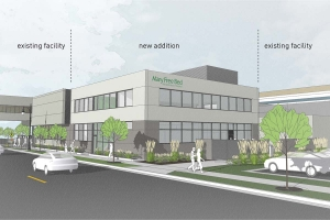 Mary Free Bed plans to bring its food services functions in house with a new addition at its campus in Grand Rapids.