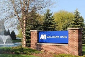 Macatawa Bank earnings up 20 percent for second quarter