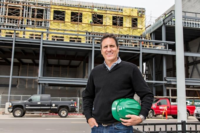 Mike VanGessel, CEO of Rockford Construction Company Inc.