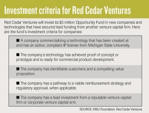 With Red Cedar Ventures, MSU looks to seed early-stage growth for university startups