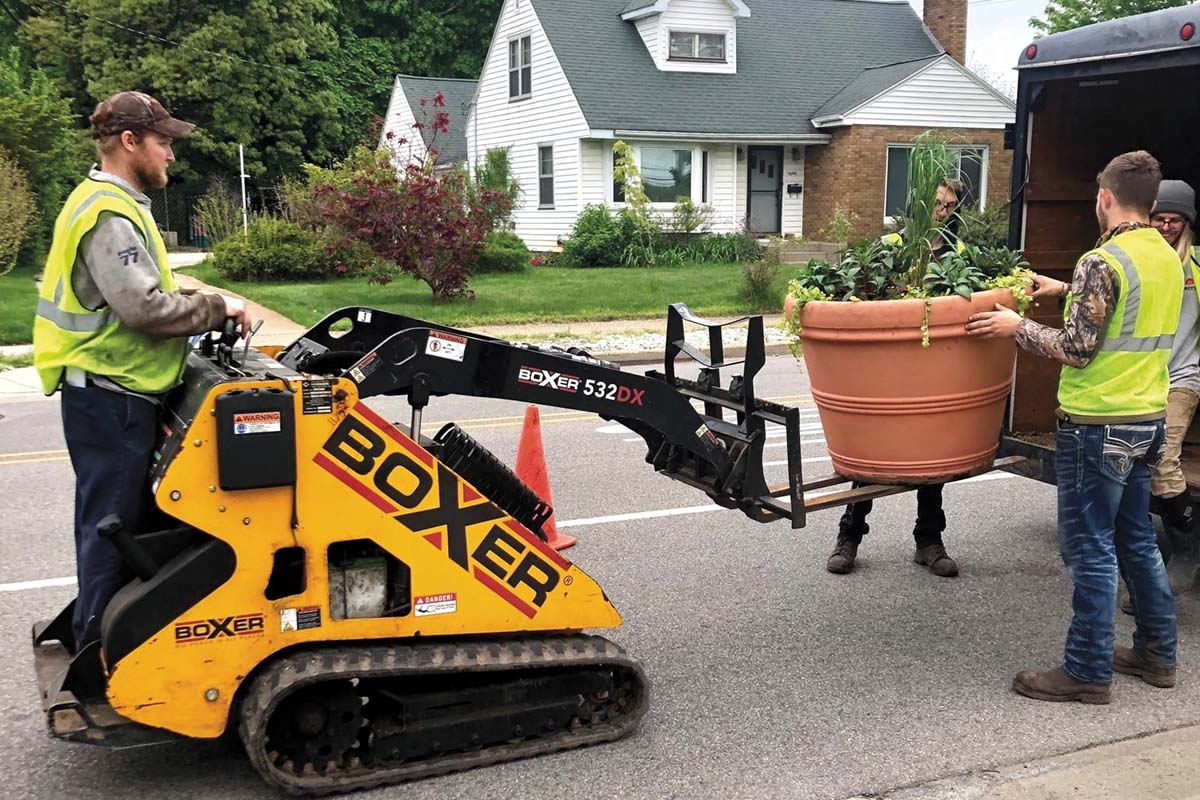 A beautification effort along Sherman Boulevard in Muskegon included the addition of more than 50 floral planters at various intersections. The project was a collaboration of Watch Muskegon, the Muskegon Lakeshore Chamber of Commerce and the cities of Muskegon, Norton Shores and Roosevelt Park.