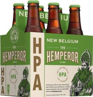 New Belgium Brewing Co. recently secured federal approval to make The Hemperor, a pale ale brewed with hemp.