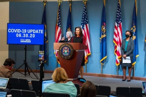Whitmer: 'Keep up our guard' as COVID-19 risk increases in some areas