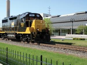 The Grand Elk Railroad, whose trains are pictured here, has petitioned the federal Surface Transportation Board for a ruling in a case involving CSX and a disputed 3.3-mile section of track in Grand Rapids. As a result of the dispute, Grand Elk has not been able to service its customers north of Grand Rapids.