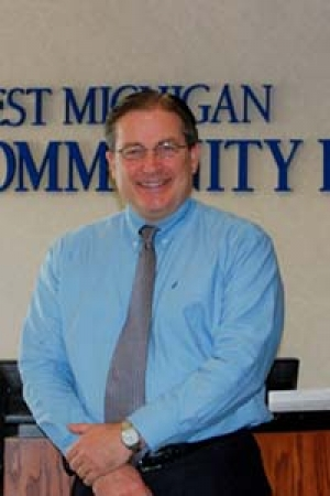 Phil Koning, president and CEO of West Michigan Community Bank