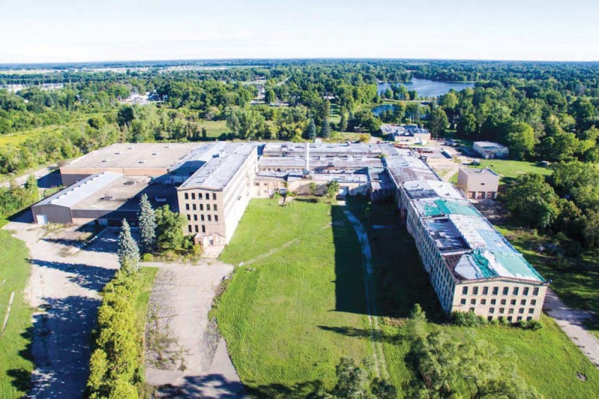 Paper City Development LLC is seeking state transformational brownfield incentives to help close the financing gap for its proposed $80 million redevelopment of the former Lee Paper Mill site in Vicksburg, about 15 miles south of Kalamazoo.