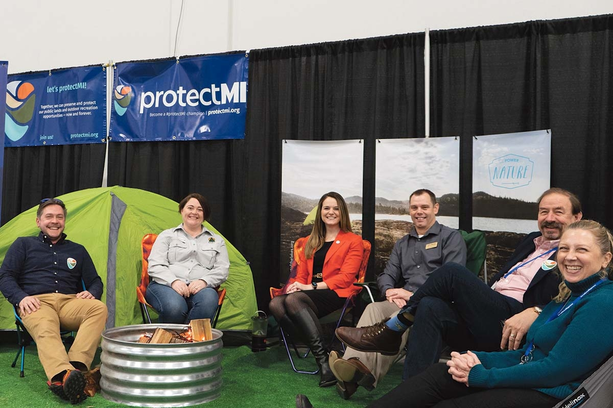 The Nature Conservancy, Michigan Recreation and Parks Association, Michigan United Conservation Clubs, Michigan Environmental Council, Heart of the Lakes, and the Michigan Trails & Greenways Alliance partnered in launching the ProtectMI public awareness campaign. The effort aims to help residents realize the importance of state parks and public lands.