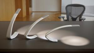 As companies integrate new features into office furniture, lighting products may soon be packed with a variety of smart technology ranging from wireless charging to sensors that adjust the color of the light based on the user's mood. For example, Light Corp.'s Amble can be outfitted with USB charging and occupancy sensor technology.