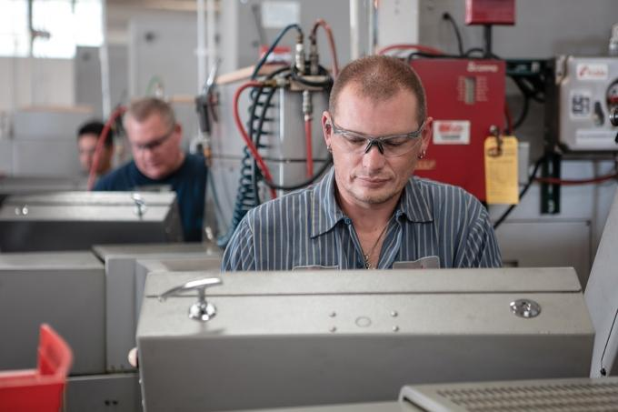 Walker-based Micron Manufacturing Co. developed a self-directed work environment for its employees, allowing them to set their own schedules. The family-owned precision machining supplier employs 39 people.