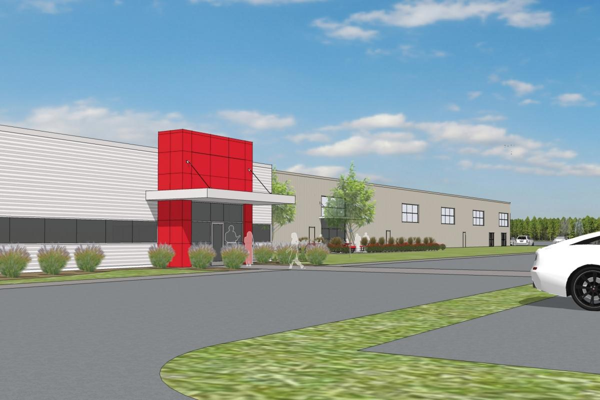 Magna Mirrors broke ground last week on a 175,000-square-foot expansion in Newaygo.