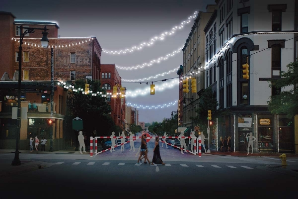 Cities weigh creating 'social districts' to help bars and restaurants