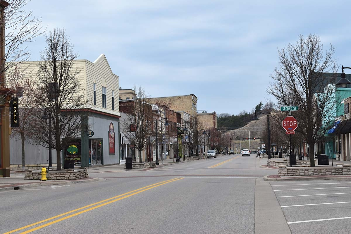 Downtown Grand Haven.