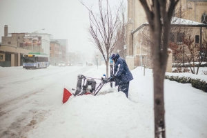 Downtown Grand Rapids Inc. manages the Downtown Improvement District assessment, which is paid by commercial property owners to fund services that include a uniformed Clean Team to clear sidewalks and work on landscaping. Officials expect legislation will be reintroduced this year that would expand the assessment to residential property owners.