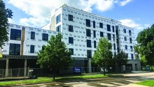 Orion Real Estate Solutions could consider converting the River's Edge apartment project into condos after the initial lease agreements expire for the building's 32 units.