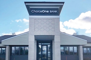 ChoiceOne Bank opened a new branch office in Rockford in the fourth quarter of 2018.